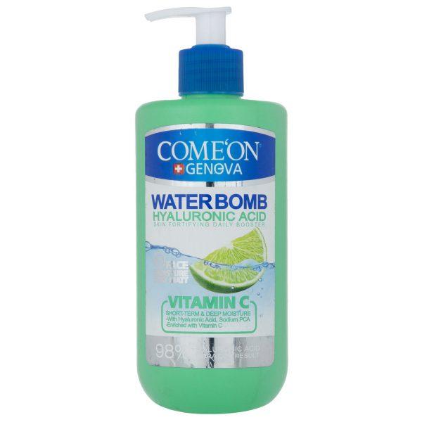 کرم آبرسان واتربمب واتر بمب کامان ویتامین ث Comeon Waterbomb Water Bomb Vitamin C فروشگاه خوراکی و بهداشتی خارجی (اورجینال) شکوفا آنلاین منطقه آزاد انزلی Shokoufa Online