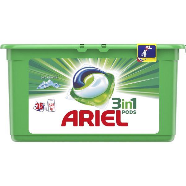 قرص ماشین لباسشویی بالشتکی 3 کاره آریل اریل ترک ترکیه Ariel 3in1 3 in 1 35 فروشگاه شکوفا آنلاین منطقه آزاد انزلی Shokoufa Online Tejarat Free Zone of Anzali
