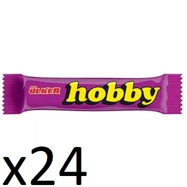 باکس شکلات فندقی هوبی هبی اولکر ترک ترکیه Ulker Hobby 25 Box 24 فروشگاه شکوفا آنلاین منطقه آزاد انزلی Shokoufa Online Tejarat Free Zone of Anzali