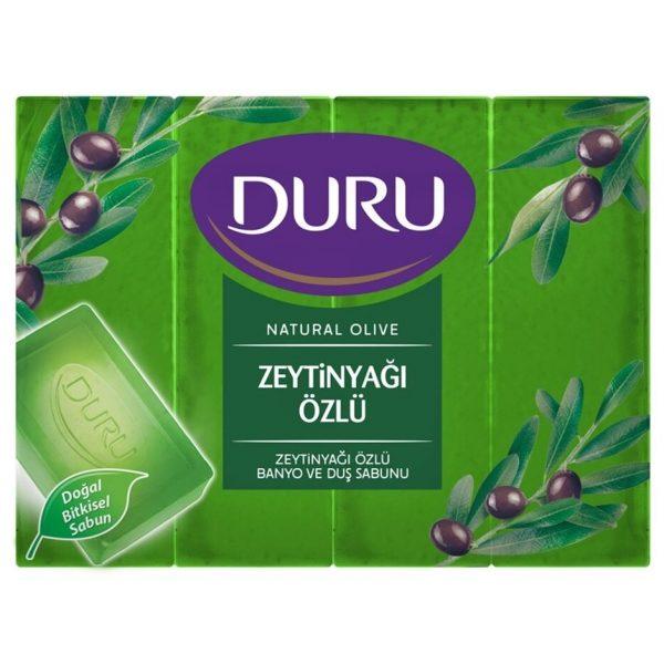 صابون دورو زیتون ترکیه ترک اصل اصلی اورجینال Duru Olive Ozlu 150 4 فروشگاه شکوفا آنلاین (شکوفا تجارت) منطقه آزاد انزلی Shokoufa Online (Shokoufa Tejarat) Free Zone of Anzali
