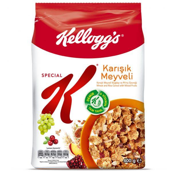کرن فلکس سریال غلات صبحانه اسپشیال کی انواع میوه ای مخلوط ترک ترکیه اصل اصلی اورجینال Special K Fruit Fruits Karisik Meyveli 400 فروشگاه شکوفا آنلاین (شکوفا تجارت) منطقه آزاد انزلی Shokoufa Online (Shokoufa Tejarat) Free Zone of Anzali