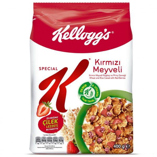 کرن فلکس سریال غلات صبحانه اسپشیال کی توت فرنگی ترک ترکیه اصل اصلی اورجینال Special K Strawberry Kirmizi Meyveli 400 فروشگاه شکوفا آنلاین (شکوفا تجارت) منطقه آزاد انزلی Shokoufa Online (Shokoufa Tejarat) Free Zone of Anzali