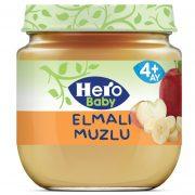 پوره میوه بچه نوزاد هیرو بیبی سیب موز اصل اصلی اورجینال ترک ترکیه Hero Baby 125 Elmali Muzlu