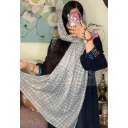 فروشگاه فروش خرید آنلاین انلاین اینترنتی شال روسری خاکستری محو نخی پوشاک زنانه دخترانه رشت گیلان Scarf Shawl
