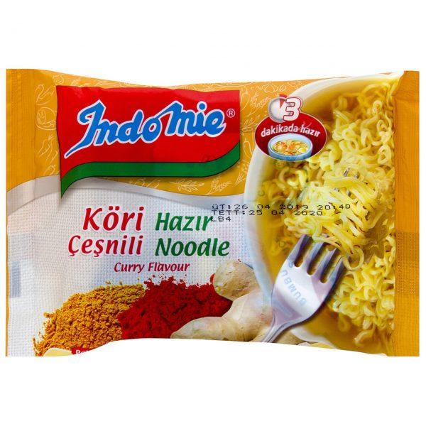 نودل آماده اماده ایندومی ادویه کاری جات اصل اصلی اورجینال خارجی ترک ترکیه Indomie Korili Hazir Noodle 75 فروشگاه خوراکی و بهداشتی خارجی (اورجینال) شکوفا آنلاین (شکوفا تجارت) منطقه آزاد انزلی Shokoufa Online (Shokoufa Tejarat) Free Zone Of Anzali Guilan Gilan Iran