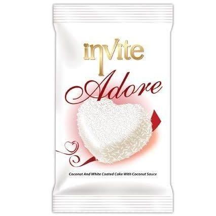 کیک اینوایت ادور نارگیلی نارگیل کیک سفید اصل اصلی اورجینال ترک ترکیه Invite Adore Coconut White Coated Cake فروشگاه خوراکی و بهداشتی خارجی (اورجینال) شکوفا آنلاین (شکوفا تجارت) منطقه آزاد انزلی Shokoufa Online (Shokoufa Tejarat) Free Zone Of Anzali Guilan Gilan Iran