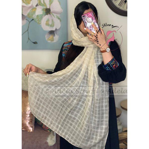 شیرشکری شیر شکری فروشگاه فروش خرید آنلاین انلاین اینترنتی شال روسری نخی پوشاک زنانه دخترانه رشت گیلان Scarf Shawl