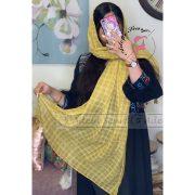 زردخاکی زرد خاکی فروشگاه فروش خرید آنلاین انلاین اینترنتی شال روسری نخی پوشاک زنانه دخترانه رشت گیلان Scarf Shawl