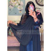 سرمه ای فروشگاه فروش خرید آنلاین انلاین اینترنتی شال روسری نخی پوشاک زنانه دخترانه رشت گیلان Scarf Shawl