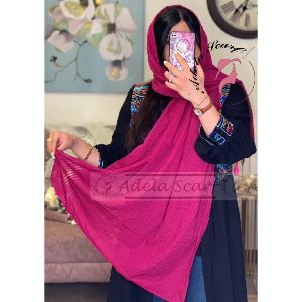 سرخابی فروشگاه فروش خرید آنلاین انلاین اینترنتی شال روسری نخی پوشاک زنانه دخترانه رشت گیلان Scarf Shawl