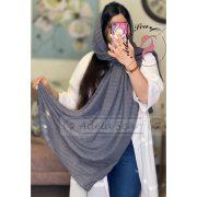 خاکستری فروشگاه فروش خرید آنلاین انلاین اینترنتی شال روسری نخی پوشاک زنانه دخترانه رشت گیلان Scarf Shawl