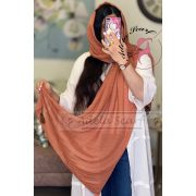 نارنجی پررنگ پر رنگ فروشگاه فروش خرید آنلاین انلاین اینترنتی شال روسری نخی پوشاک زنانه دخترانه رشت گیلان Scarf Shawl