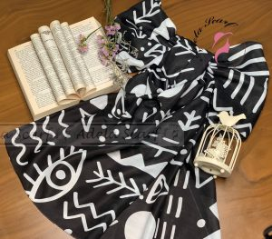 طرحدار طرح دار مینیاتوری فروشگاه فروش خرید آنلاین انلاین اینترنتی شال روسری نخی پوشاک زنانه دخترانه رشت گیلان Scarf Shawl