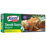 عصاره مکمل غذا غذایی مرغ جوجه کنت اصل اصلی اورجینال خارجی ترک ترکیه Kent Boringer Chicken Bouillon Tavuk Suyu Bulyon 12 120 10